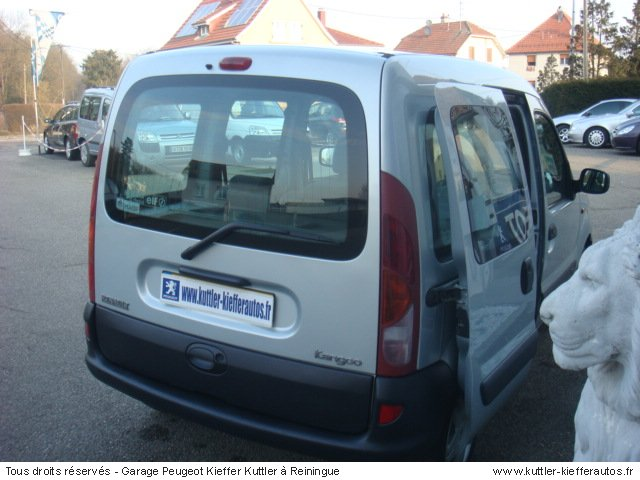 renault kangoo 1 5l dci 65cv expression 2002 occasion auto renault kangoo. Black Bedroom Furniture Sets. Home Design Ideas