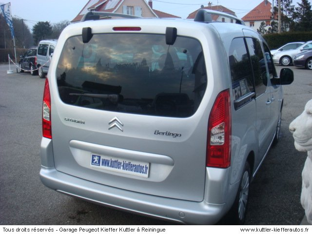 CITROEN BERLINGO 1.6L HDI 92CV MULTISPACE 2008 - Voiture d'occasion