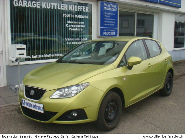 SEAT IBIZA STYLANCE 1.4L 16V 2009 - Voiture d'occasion