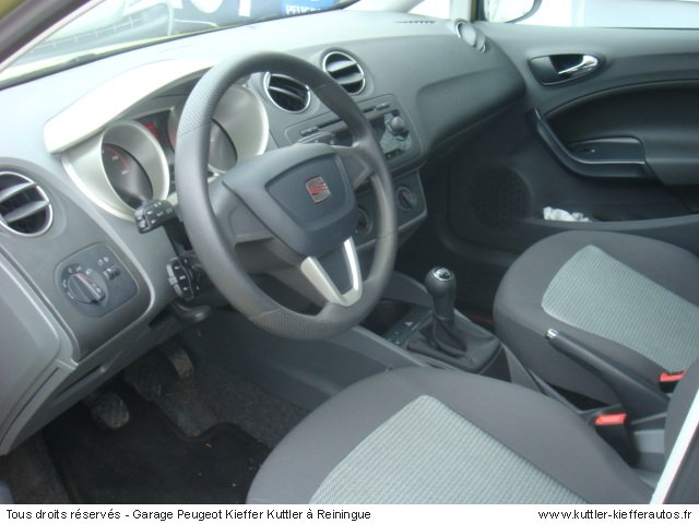 seat ibiza stylance 1 4l 16v 2009 occasion auto seat ibiza. Black Bedroom Furniture Sets. Home Design Ideas