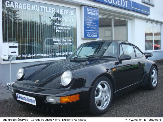 PORSCHE 911 965 3.3L TURBO 1991 - Voiture d'occasion