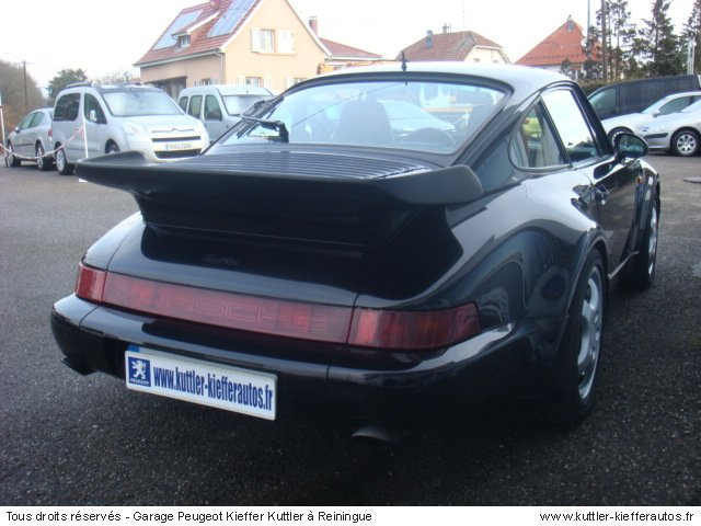 porsche 911 965 3 3l turbo 1991 occasion auto porsche 911. Black Bedroom Furniture Sets. Home Design Ideas