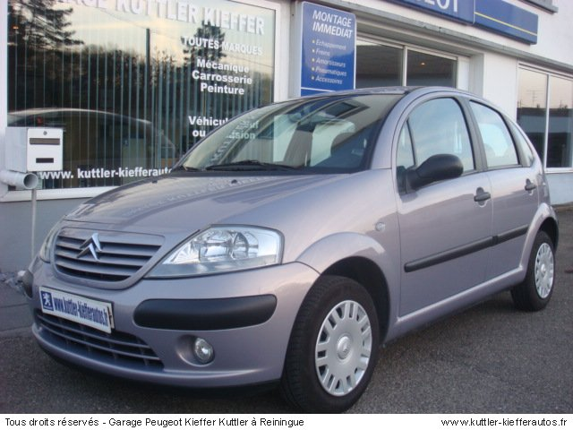 CITROEN C3 PACK 1.4L  ESSENCE 2003 - Voiture d'occasion