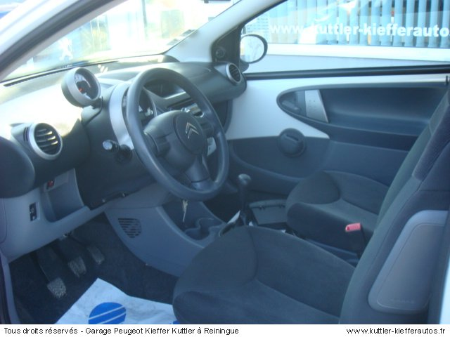 CITROEN C1 1L PACK 3PT 2008 - Voiture d'occasion