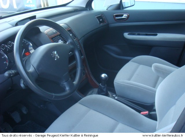 PEUGEOT 307 1.6L HDI 110CV EXECUTIVE 2007 - Voiture d'occasion