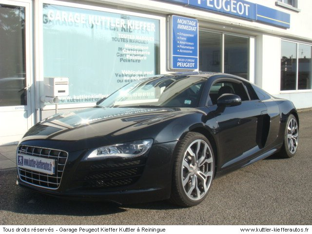 audi r8 v10 525cv 2009 occasion auto audi r8. Black Bedroom Furniture Sets. Home Design Ideas