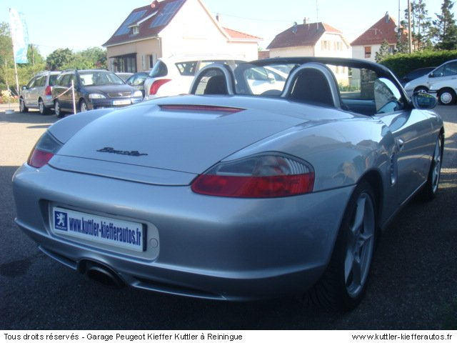 porsche boxster 2 7 l 2003 occasion auto porsche boxster. Black Bedroom Furniture Sets. Home Design Ideas