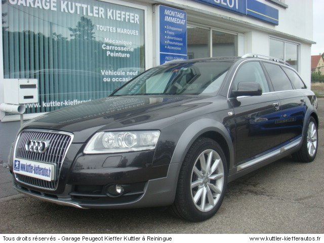 audi a6 allroad 3 0 l tdi s tronic avus 2007 occasion auto audi a6 allroad. Black Bedroom Furniture Sets. Home Design Ideas