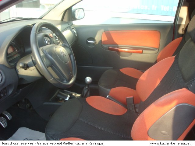 citroen c2 1 6l 16v vts 125 cv 2005 occasion auto citroen c2. Black Bedroom Furniture Sets. Home Design Ideas