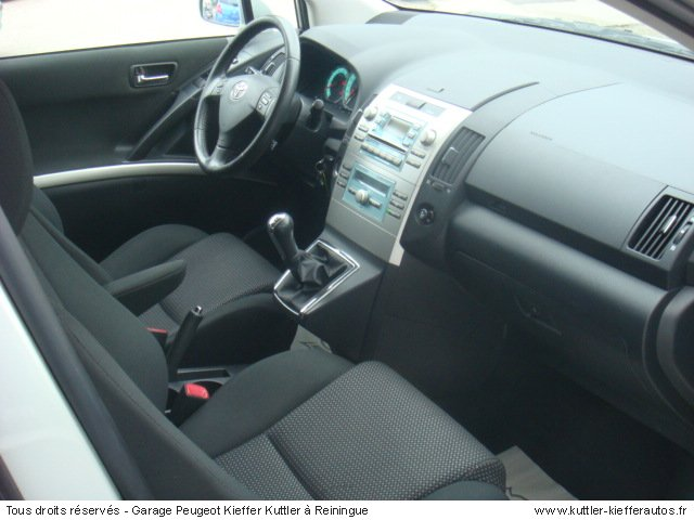 TOYOTA COROLLA VERSO 177 D4D 7PL CLEAN POWER 2006 - Voiture d'occasion