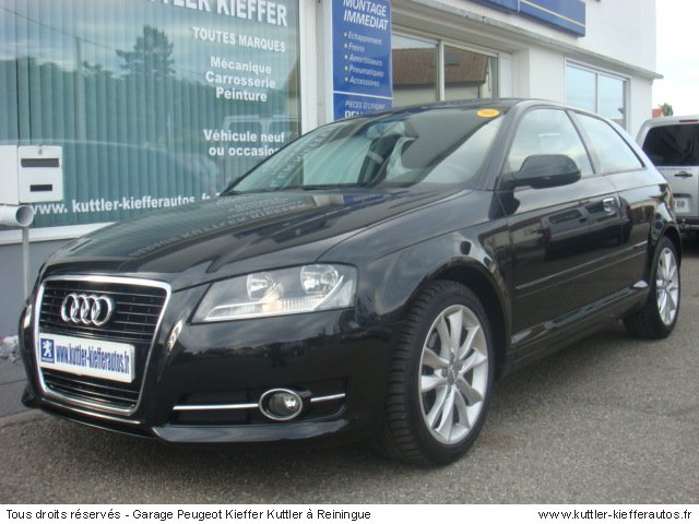 audi a3 ambition tdi 105cv 2010 occasion auto audi a3. Black Bedroom Furniture Sets. Home Design Ideas