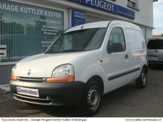 renault kangoo 1 9l d65 2000 occasion auto renault kangoo. Black Bedroom Furniture Sets. Home Design Ideas