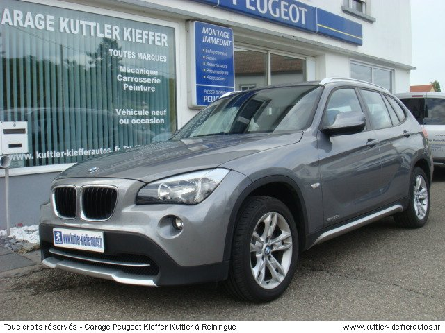 bmw x1 s drive confort 2l bva 177cv 2010 occasion auto. Black Bedroom Furniture Sets. Home Design Ideas