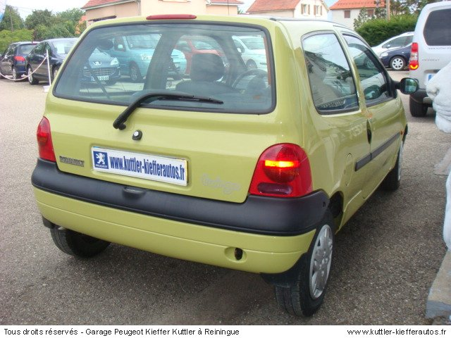 renault twingo 1 2l pack 1999 occasion auto renault twingo. Black Bedroom Furniture Sets. Home Design Ideas