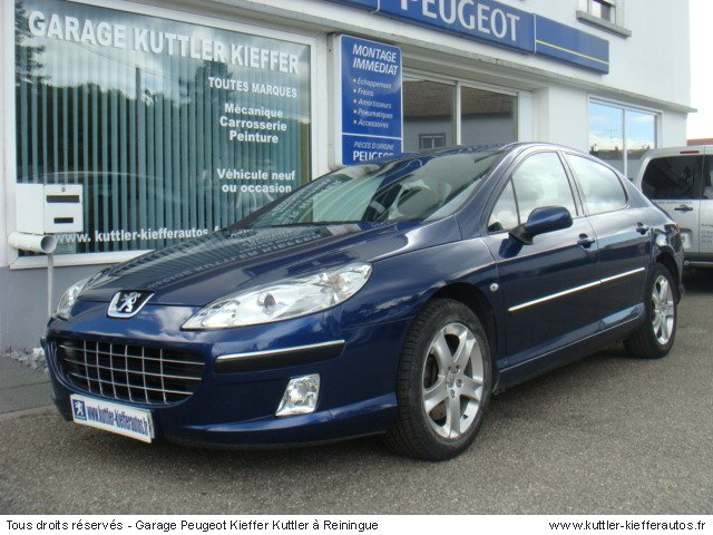 PEUGEOT 407 2.2L ESSENCE SPORT PACK 2006 - Voiture d'occasion