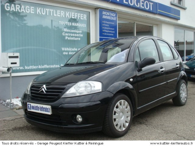 CITROEN C3 1.4L HDI 70CV  EXCLUSIVE 2003 - Voiture d'occasion