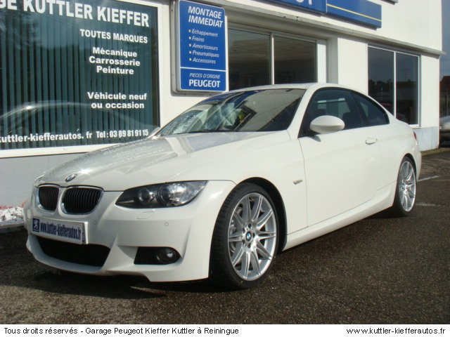 bmw 335i coupe sport design 306cv bva 2007 occasion auto bmw 335i coupe. Black Bedroom Furniture Sets. Home Design Ideas