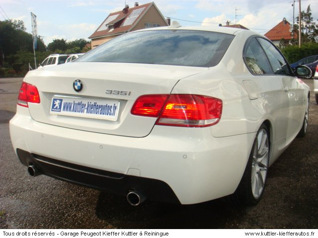 BMW 335I COUPE SPORT DESIGN 306CV BVA 2007 - Voiture d'occasion