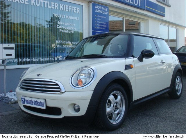 MINI COOPER 1.6L 16V 120CV PACK CURRY 2007 - Voiture d'occasion