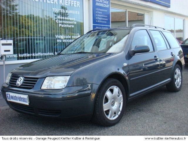 VOLKSWAGEN BORA BREAK V5 150 CV 2000 - Voiture d'occasion