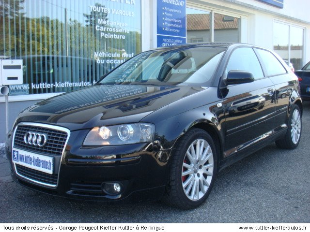 audi a3 2l tdi 170 cv ambiente 2006 occasion auto audi a3. Black Bedroom Furniture Sets. Home Design Ideas