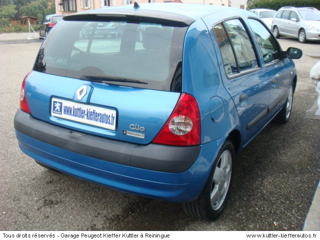 2002 renault clio ii 1 5 dci 65 related infomation specifications weili automotive network. Black Bedroom Furniture Sets. Home Design Ideas