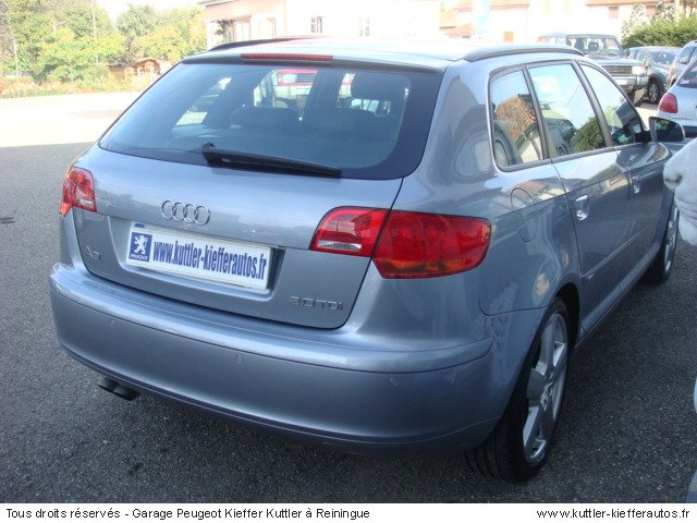 audi a3 sport back 2l tdi 140cv s line 2007 occasion auto audi a3 sport back. Black Bedroom Furniture Sets. Home Design Ideas