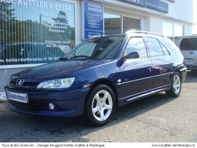 PEUGEOT 306 BREAK 2L HDI 90CV SAINT TROPEZ 2000 - Voiture d'occasion