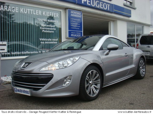 v hicules d 39 occasions peugeot rcz en alsace achat et. Black Bedroom Furniture Sets. Home Design Ideas