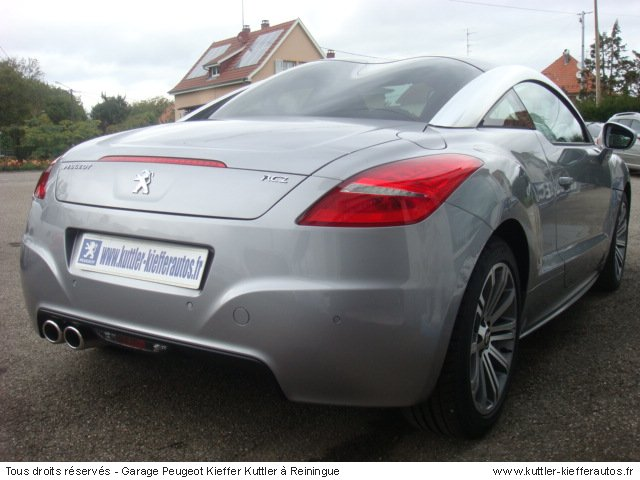 peugeot rcz 1 6 thp 156cv 2011 occasion auto peugeot rcz. Black Bedroom Furniture Sets. Home Design Ideas