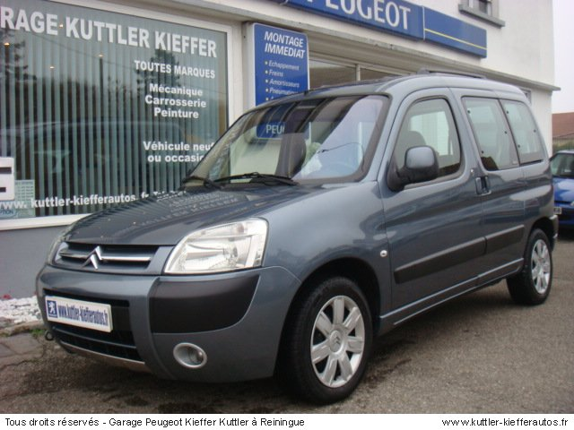 CITROEN BERLINGO 1.6L HDI 92CV MULTISPACE 2007 - Voiture d'occasion