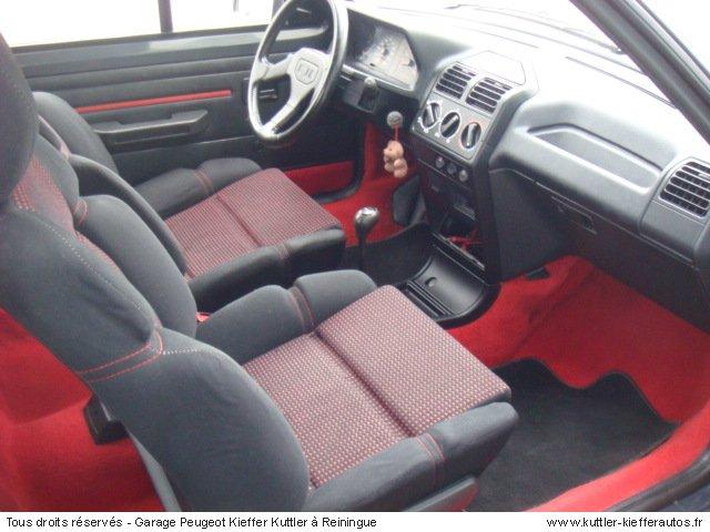 PEUGEOT 205 GTI CTI 1.9L 105CV 1990 - Voiture d'occasion