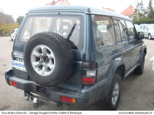 mitsubishi pajero 3 5l v6 bva 1995 occasion auto mitsubishi pajero. Black Bedroom Furniture Sets. Home Design Ideas