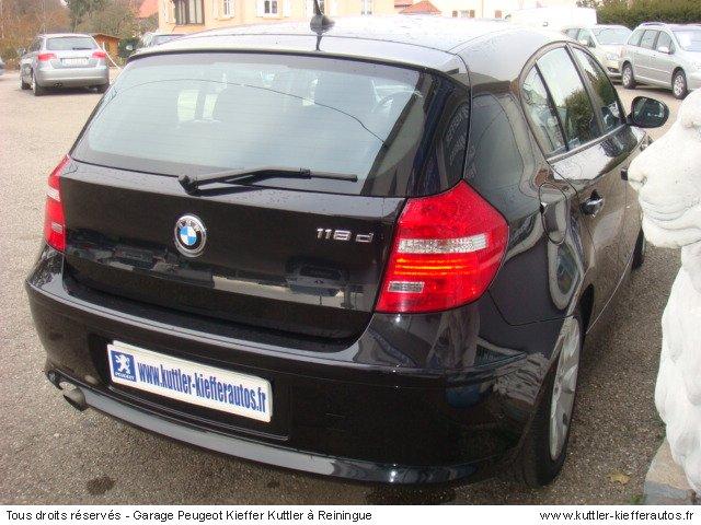 BMW 118 D 143CV EDITION AVANTAGE 2010 - Voiture d'occasion