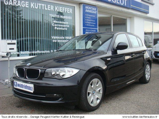 bmw 118 d 143cv edition avantage 2010 occasion auto bmw 118 d. Black Bedroom Furniture Sets. Home Design Ideas