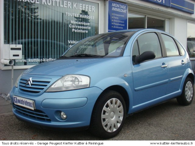CITROEN C3 1,4L ESSENCE EXCLUSIVE 2002 - Voiture d'occasion
