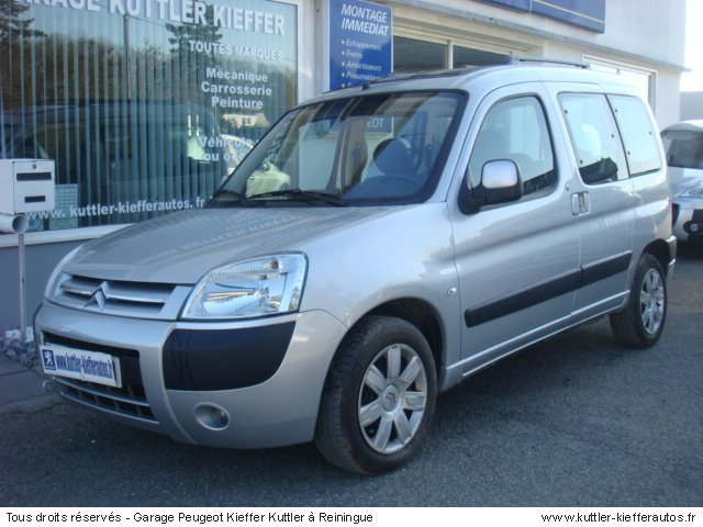 CITROEN BERLINGO MULTISPACE 1.6L HDI 92CV 09 - Voiture d'occasion