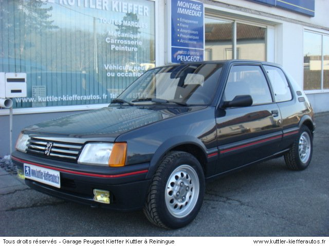 1986 peugeot 205 gti related infomation specifications. Black Bedroom Furniture Sets. Home Design Ideas