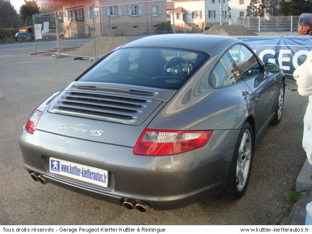 porsche 997 4s coupe 2007 occasion auto porsche 997. Black Bedroom Furniture Sets. Home Design Ideas