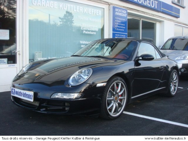 porsche 997 cabriolet carrera s 2007 occasion auto. Black Bedroom Furniture Sets. Home Design Ideas