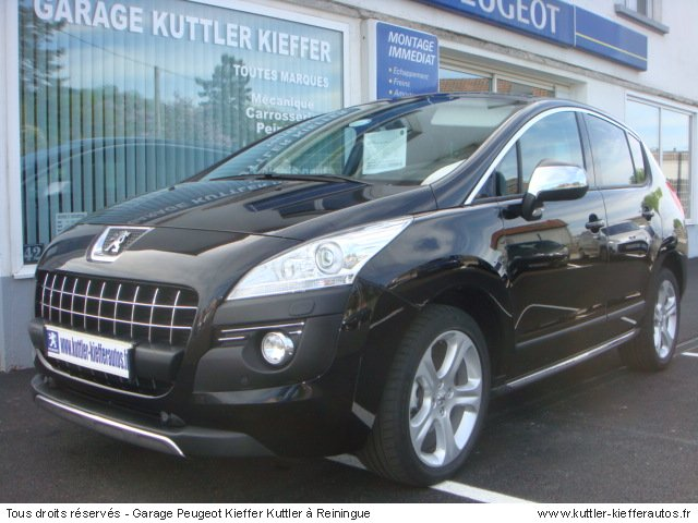 peugeot 3008 1 6l thp 156cv feline 2011 occasion auto. Black Bedroom Furniture Sets. Home Design Ideas