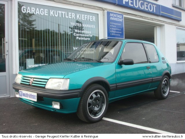 PEUGEOT 205 GTI GRIFFE 1991 - Voiture d'occasion