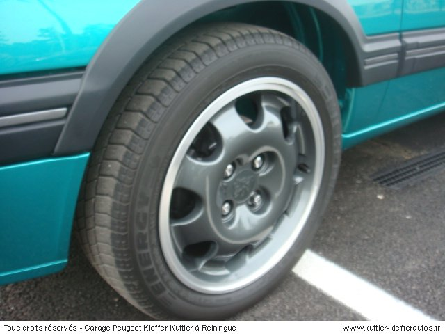 PEUGEOT 205 GTI GRIFFE 1991 - Voiture d'occasion