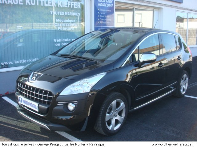 peugeot 3008 1 6l hdi 110cv premium pack 2010 occasion. Black Bedroom Furniture Sets. Home Design Ideas