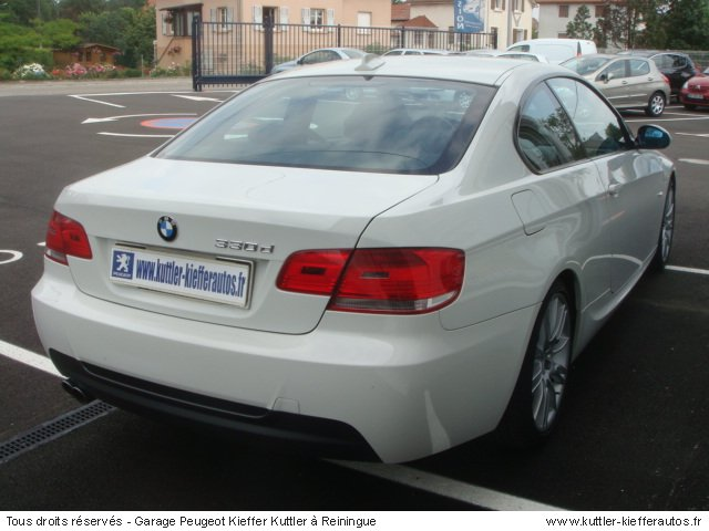 BMW 330 D COUPE SPORT DESIGN BVA 2008 - Voiture d'occasion