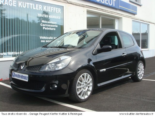 renault clio 3 rs 2007 occasion auto renault clio 3. Black Bedroom Furniture Sets. Home Design Ideas