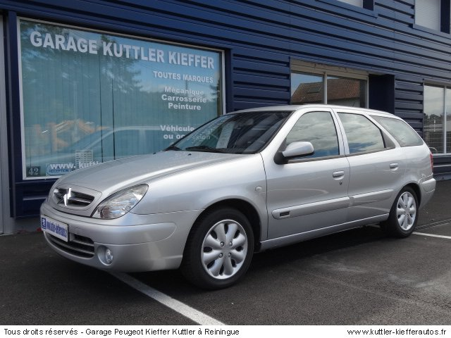 CITROEN XSARA BREAK 2L HDI EXCLUSIVE 2004 - Voiture d'occasion