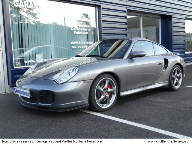 PORSCHE 996 TURBO 420 CV 2001 - Voiture d'occasion
