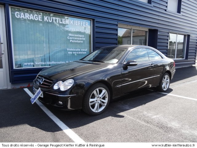 mercedes clk 220 cdi bva avantgarde 2007 occasion auto mercedes clk. Black Bedroom Furniture Sets. Home Design Ideas