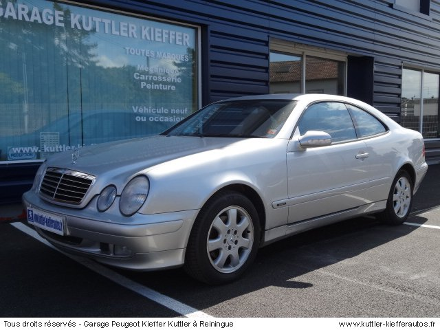 mercedes clk 230 kompressor avantgarde 2001 occasion auto mercedes clk. Black Bedroom Furniture Sets. Home Design Ideas